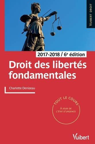Droit Des Libertes Fondamentales 2017 2018