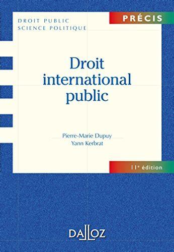Droit International Public 11e Ed Precis