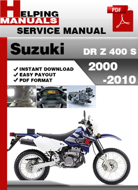 Drz 400 S Owner Manual