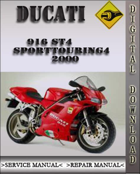 Ducati St4 2000 2005 Service Repair Manual