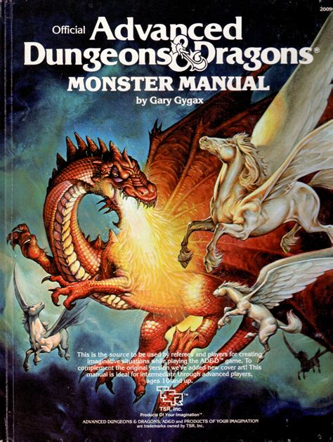 Dungeons And Dragons Monster Manual 1e