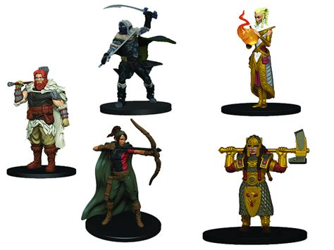 Dungeons Andamp Dragons Miniatures Heroes Starter Set