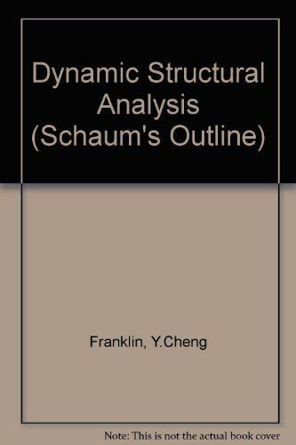 Dynamic Structural Analysis Schaum S Outline S