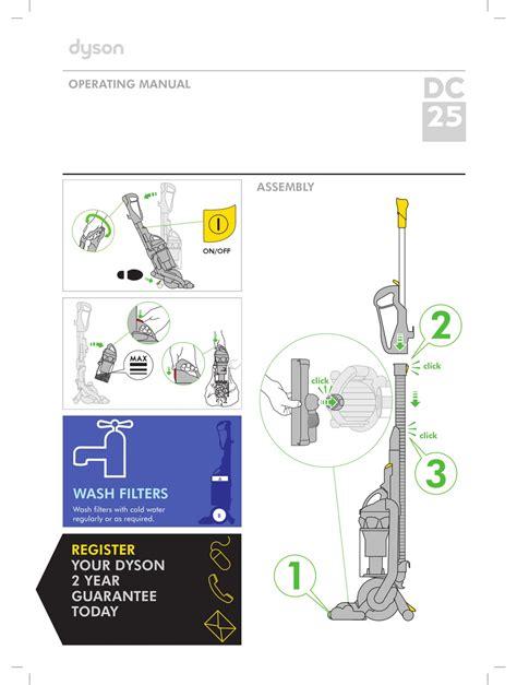 Dyson Dc25 Manual English