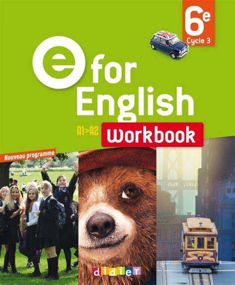 E for English 6e - Worbook