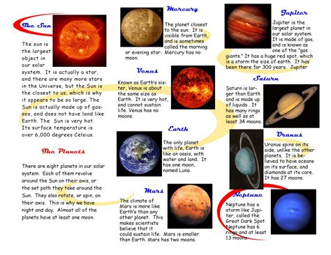 Earth Science Study Guide Our Solar System