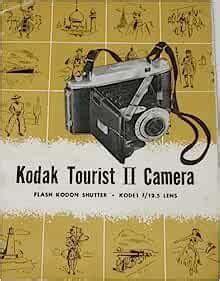 Eastman Kodak Tourist Ii Camera Owner Instruction Manual