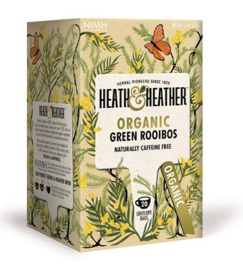 Eath And Heather Orga Green Rooibos 30g