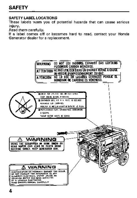 Eb 6500 Service Manual