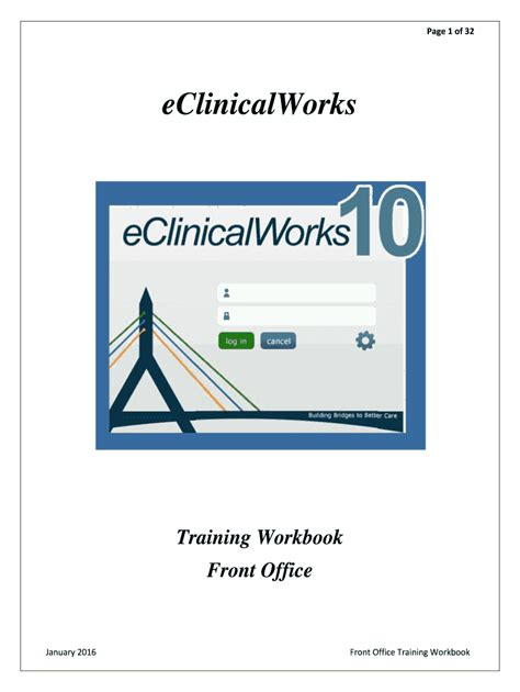 Eclinicalworks User Manuals