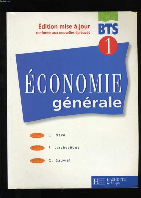Economie Generale Bts 1