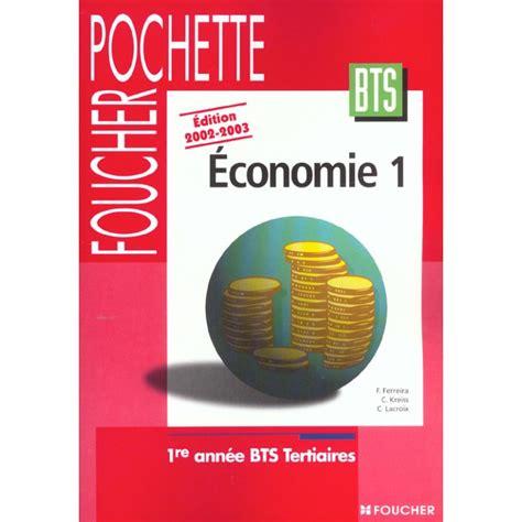 Economie Generale Bts Tertiaires 1e Annee