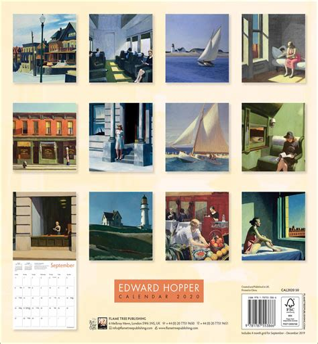 Edward Hopper 2020 Calendar
