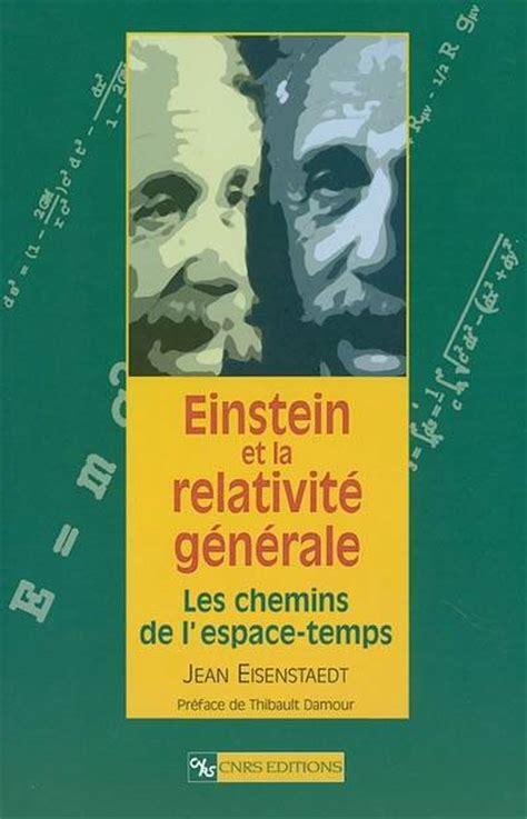 Einstein et la relativité.
