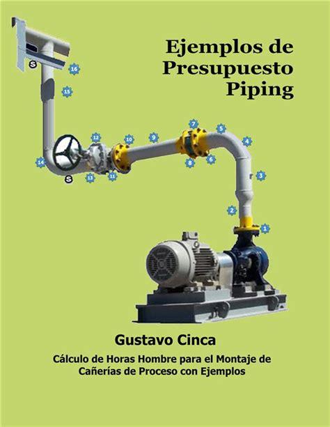 Ejemplos De Presupuesto Piping