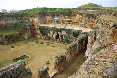 El Anfiteatro Romano De Carmona Historia Y Geografia