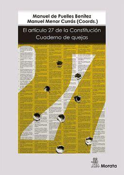 El Articulo 27 De La Constitucion Cuaderno De Quejas