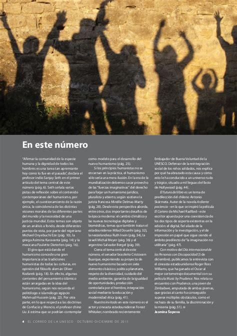 El Correo De La Unesco El Humanismo Una Idea Nueva