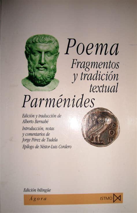 El Poema de Parménides y el