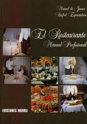 El Restaurante Manual Profesional