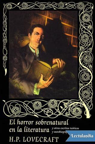 El horror sobrenatural en la literatura: y otros escritos (Icaro)