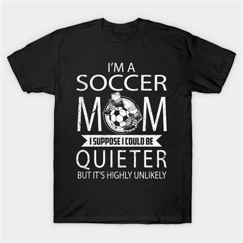 Elagos I M A Baseball Mom I Suppose I Could Be Quieter Adult Shirt