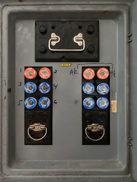 Electric Panel Fuse Box
