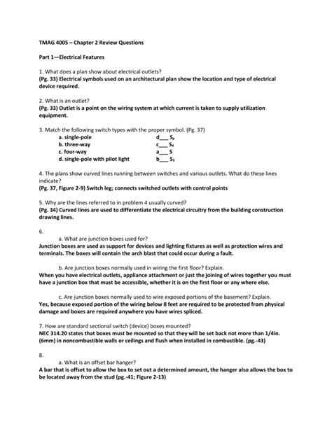 Electrical Wiring Residential 6th Edition Review Answers