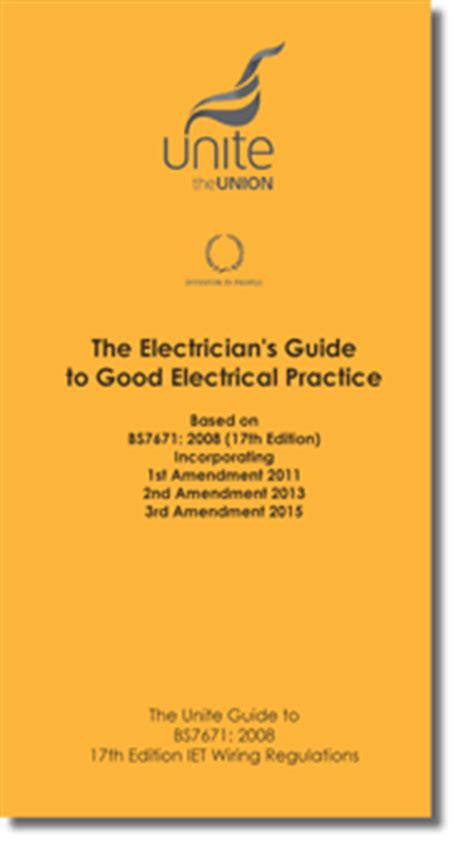 Electricians Guide To Good Electrical Practice