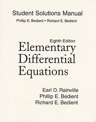 Elementary Differential Equations Solution Manual By Kells
