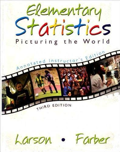 Elementary Statistics 3rd Edition Larson Answers