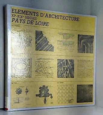 Elements D Architecture Xie Xixe Siecles