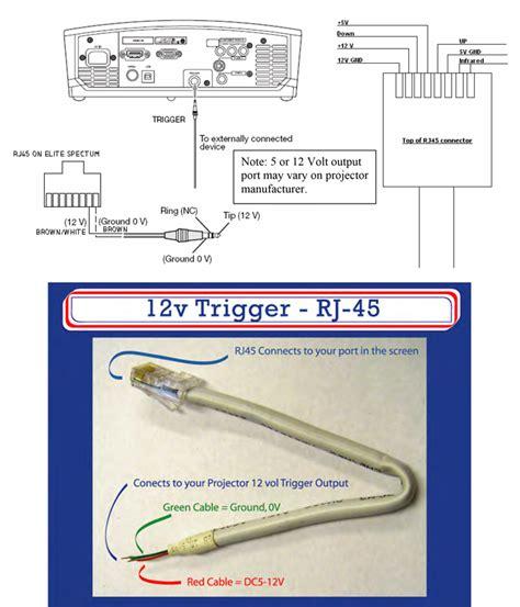 Elite Screen Wiring Diagram