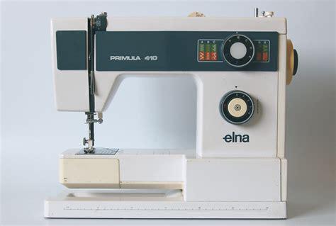 Elna Primula 410 User Guide