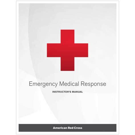 Emergency Medical Response Instructor Manual