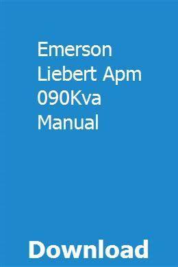 Emerson Liebert Apm 090kva Manual