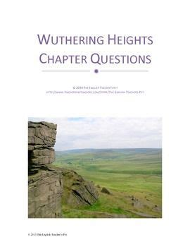 Emily Brontes Wuthering Heights Chapter Questions And Answer Keys