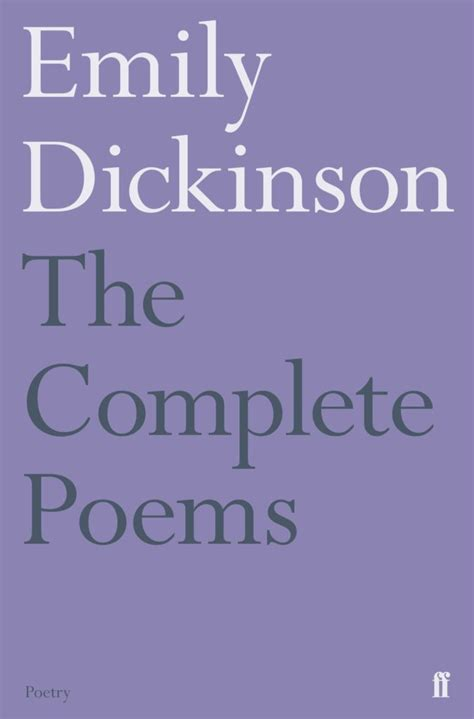 Emily Dickinson Complete Poems English Edition
