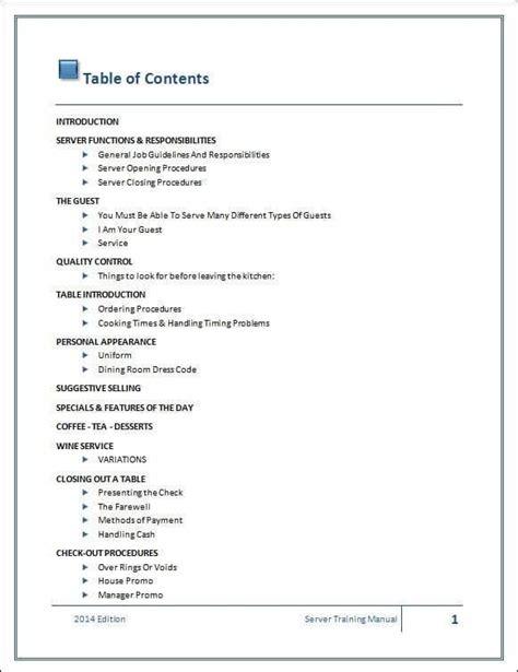 Employee Training Manual Of Bosch