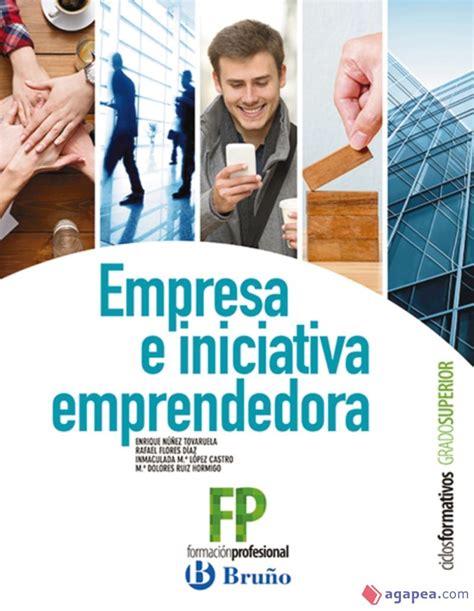 Empresa E Iniciativa Emprendedora Ciclos Formativos