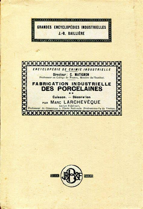 Encyclopédie de chimie industrielle