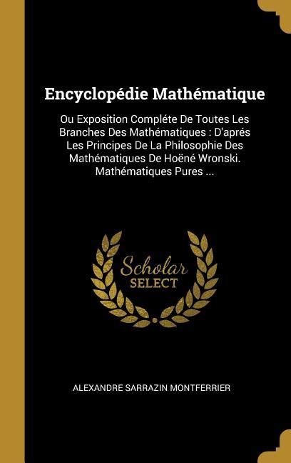 Encyclopédie des mathématiques