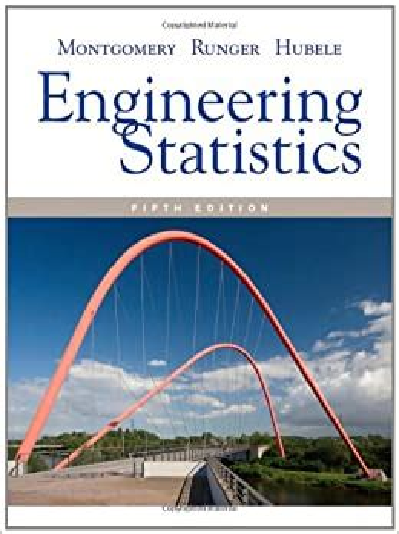 Engineering Statistics Montgomery Solutions Manual 5th Edition
