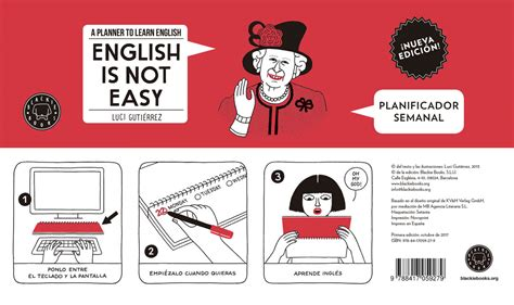English Is Not Easy Planificador Semanal