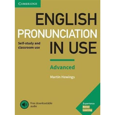English Pronunciation In Use Advanced Book With Answers With Audio