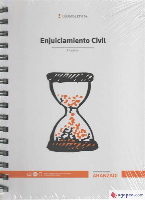 Enjuiciamiento Civil Leyitbe Papel E Book Codigo Basico