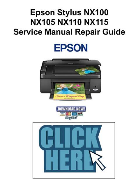 Epson Nx110 Manual