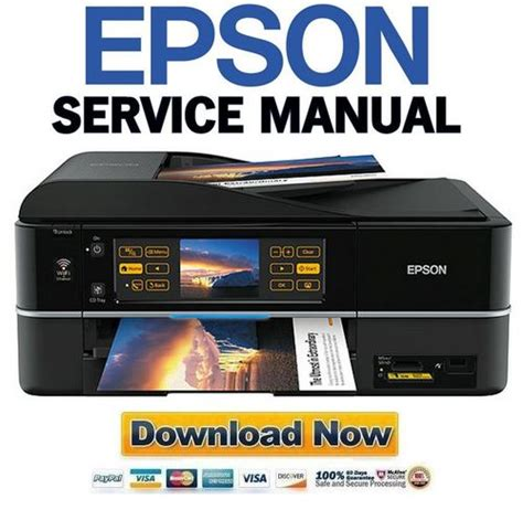 Epson Stylus Photo Px810fw Tx810fw Service Manual And Repair Guide