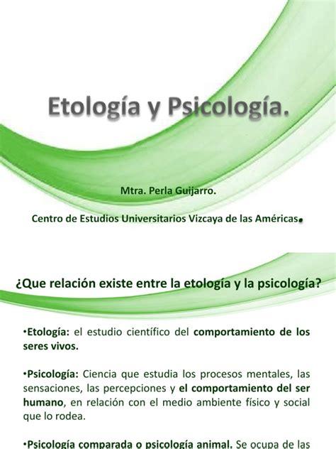 Escritos 1 Psicologia Y Etologia