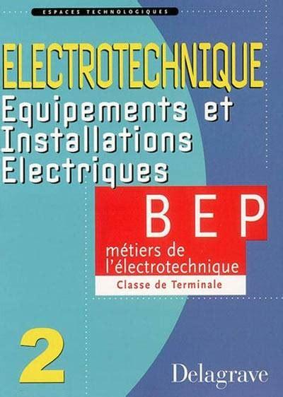 Espaces Technologiques Electrotechnique Equipements Et Installations Electriques